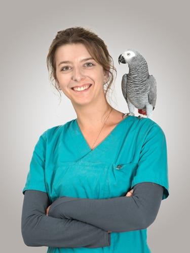 Laurie assistante veterinaire lyon 8 eme Mermoz Vet