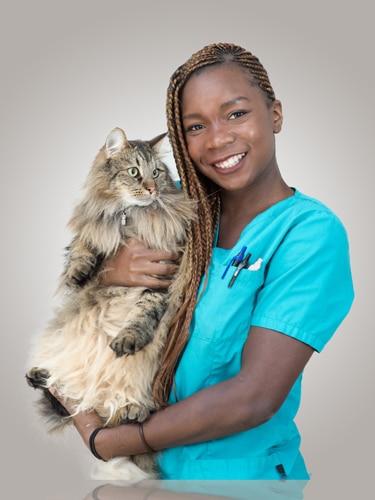 Marie-Ange assistante veterinaire lyon 8 eme Mermoz Vet