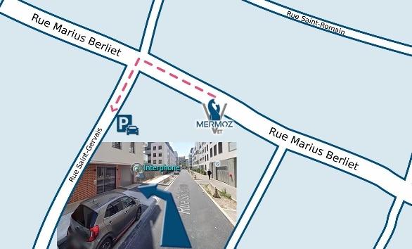 Plan parking