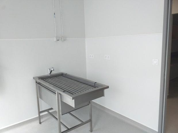 La salle de dentisterie